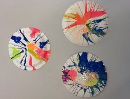 Spinning up a Work of Art: A Different Art Technique to Try in Kindy Room