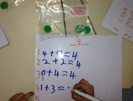 It's in the Bag!: Using Zip Lock Bags to Teach Partitioning Numbers