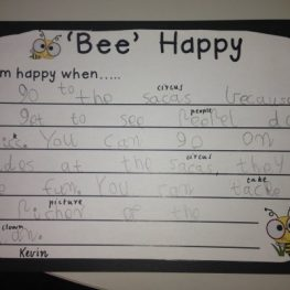 Classroom Activity: 'Bee Happy'