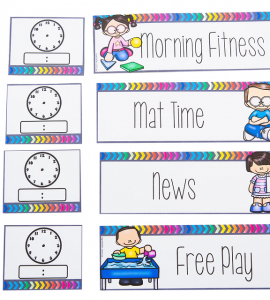 How Can A Visual Schedule Help Your Students?