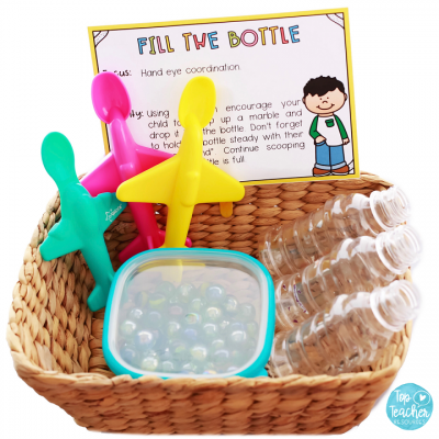 Improve their Skills: Fine Motor Fun
