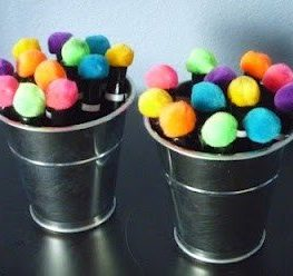 Top Teacher Tip #2: Pom Pom Pens