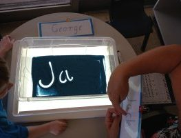 Teaching Kids to Recognise and Write Their Name Independently