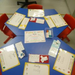 Nervous about name writing? Teaching your students how to write their own name.