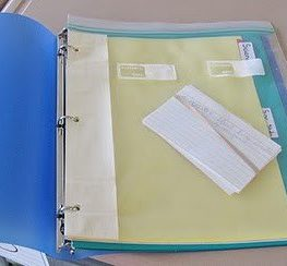 Top Teacher Tip #4: Use Zip Lock Bags to Organise Your Files